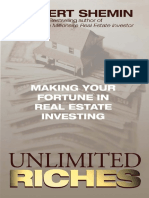 Unlimited Riches Making Your Fortune in Real Estate-966413