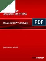 BitDefender Management Server Administrator's Guide v3.0 En