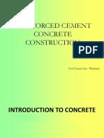 RCC Material