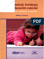 Como construir fortalezas en la educacion especial resiliencia