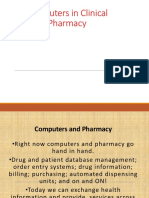 Applicationsof Computer in Pharmacy