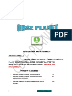 Nots Ch 1 Geo Resource Development PREPARED BY CBSE PLANET
