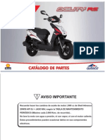 Manual de Partes AGILITY-RS