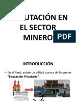 Tributos en Minería