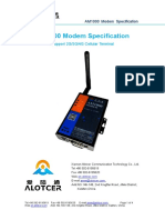 Alotcer AM1000 Modem Specification