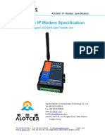 Alotcer  AD2066 IP Modem Specification
