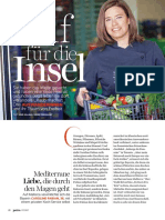 Petra Magazine, Caroline Fabian