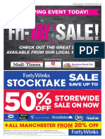 Advertisers for the Fri-YAY sale in Horsham