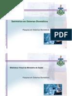 Pesquisa em Sistemas Biomédicos