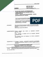 SR en 933-1-Determinarea Granulozitatii Prin Cernere