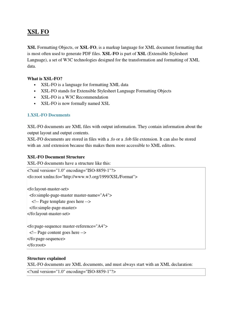 xsl fo persistence html element
