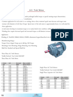Ac Torque Motor for Winder Machine