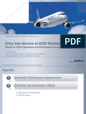 A320 Sharklets pdf | Airbus | Aerospace Engineering