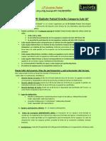 Bases Reguladoras VII Campeonato Quijote Futsal Cracks Categoría Sub18 OFICIALES