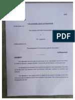 Le jugement de la Cour suprême sur l'appel du DPP dans l'affaire MedPoint.