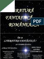 Literatura fantastica romaneasca.ppt