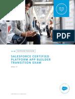 Sg Certified Platform App Builder Transition