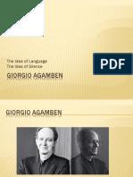 The Idea of Language Giorgio Agamben Caner c3a7etiner 12-11-20151