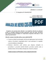 Cds-Analiza de Nevoi