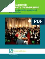 Facing Addiction COMMUNITY CONVENINGGuide June13 2017 Web