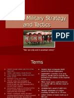 Roman Military Strategy and Tactics