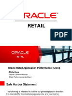 Oracle Retail Application Performance Tuning Best Practices V14