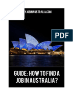 Guide How to Find a Job in Australia