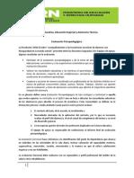 Documento de Apoyo Evaluacion Psicop.