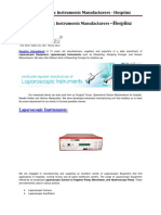 Laparoscopic Instruments Manufacturers