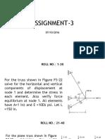 Fem Assignment 3