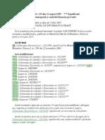ORDONANŢĂ Nr 119_1999 Republicata - Control Intern