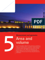 Chapter 5- Area and Volume