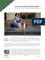 Iratxe Gómez_ Así Se Convirtió Una Profesora Vasca en Siri, La Voz Del iPhone en Español _ Blog Diario de España _ EL PAÍS