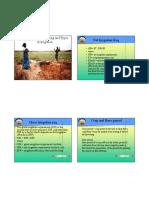 Methods of Irrigation