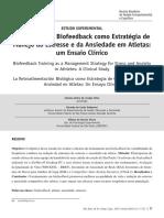 O Emprego Do Biofeedback Como Estratégia de Manejo Do Estresse e Da Ansiedade Em Atletas Um Ensaio Clínico