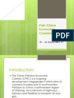 Pak-China Economic Corridor (PCEC)