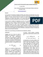 Resumen Medicion de Temperatura en El Corte Por Radiacion g. Zamora Olea