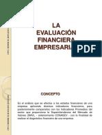 Evaluación Financiera EE.ff