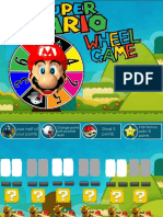 Mario Wheel Reading game PPT
