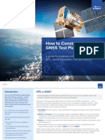 How to Construct a GNSS Test Plan