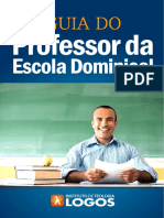 Guia Professor Escola Dominical