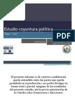 UCV - Clde Estudio de Coyuntura Política  - Mayo 2017