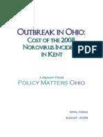 Outbreak in Ohio 2008