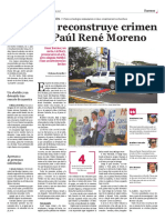 Reconstrucción asesinato de Paul Moreno