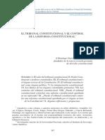 El Tribunal Constitucional Y EL cONTROL DE LA rEFORMA cONSTITUCIONAL.pdf
