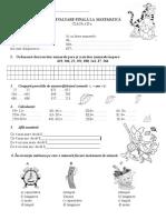 0 Mem Test Evaluare Initiala Clasa a Iiia