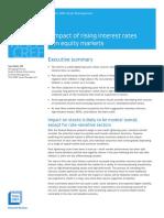 Impact Rising Interest Rates