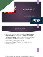 anemias pediatria