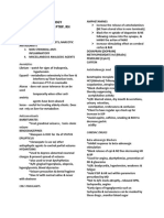 Pharmacology Handout