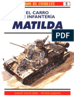 Osprey - Carros de Combate 05 - El Carro de Infanteria Matilda